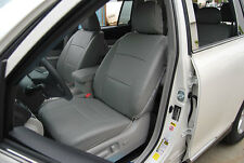 TOYOTA HIGHLANDER 2014-2018 IGGEE S.LEATHER CUSTOM SEAT COVER 13COLORS AVAILABLE
