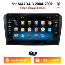 """Android 10 Car GPS For Mazda 3 2004-2009 8"""" Touch Stereo Radio Head Unit +HD CAM"""