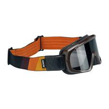Biltwell Overland Goggle, Motorradbrille, braun-orange für Jethelm, Antibeschlag