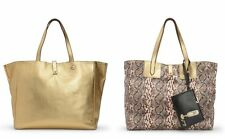 Juicy Couture Hollywood Hills Reversible Tote & JC Coin Wrislet NWT Retails $298