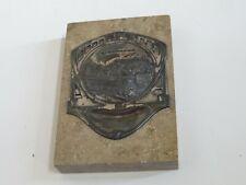 Vintage NUERNBERG GERMANY Paperweight Marble Souvenir (R960)
