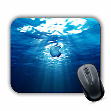 UNDERWATER APPLE EFFECT MOUSE MAT Pad PC Mac iMac MacBook Gaming High Quality