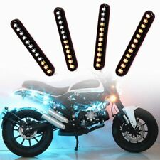 2x Car Flexible Switchback LED Knight Rider Mini Strip Light Faro Sequenziale vf