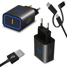 Su esbelto diseño USB cargador de enchufe red parte adaptador de CA para móvil smartphone