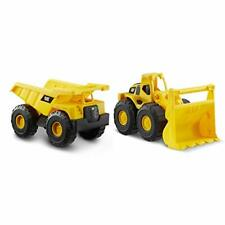 CatToysOfficial Toy Construction Vehicle 2 Pack, Yellow