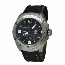 Luminox 5241 XCOR Aerospace Anadigi Titanium Case Black Leather Watch