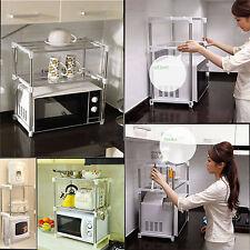 Multifonctionnel cuisine étagère télescope cadre support réglable micro-ondes rack