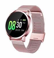 Smartwatch Mujer GOKOO, Impermeable Reloj Inteligente Elegante (Rosa)