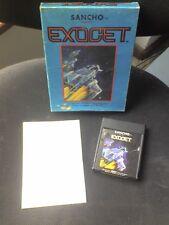 RARISSIMO EXOCET x ATARI 2600 Originale Cartuccia Rare ltd atari no commodore