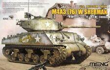 MENG MODEL TS-043 US Medium Tank M4A3(76)W Sherman in 1:35