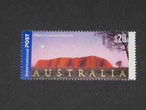 AUSTRALIA INTERNATIONAL POST $20 AYERS ROCK ULURU MINT NEVER HINGED
