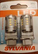 Sylvania Super Bright Cool White LED 3157 6000K also fit 3057 4057 BRAND NEW