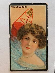 1902 BAT BRITISH AMERICAN TOBACCO CIGARETTE CARD BEAUTIES ACTRESSES MARINE GIRLS