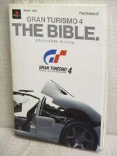 GRAN TURISMO 4 The Bible w/DVD Guide PS2 Book TJ3x*