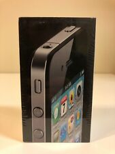 iPhone 4 16GB - BLACK - Factory Sealed - *RARE* - COLLECTABLE!