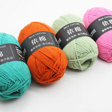 New Free shipping Knitting wool Crochet 62 colors baby Milk cotton Yarn 50g lot