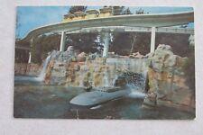 d346 vintage postcard Disneyland CA postcard sub Submarine Tomorrowland 1960's