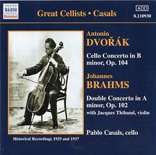 Dvořák - Cello Concerto · Brahms - Double Concerto / Pablo Casals