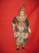 """Lovey Vintage Burmese 25""""  Large Wooden String Marionette"""