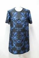STELLA MCCARTNEY Ladies Laycie Black Brocade Crystal Detail Dress IT44 UK12 NEW