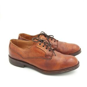 Cheaney Men's Brown Leather England Shoes CLASSIC DERBY Hand crafted UK 10 US 11