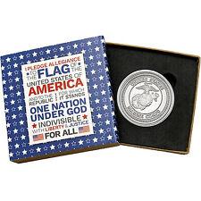 US Marine Corps 1oz .999 Fine Silver Round (Pledge box)