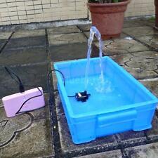Anself Mini USB 5V 2.3W Brushless Water Pump Submersible for Fountain Aquarium