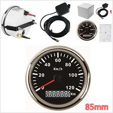 Universal Auto Car Truck 85mm Stainless GPS Digital Speedometer Waterproof Gauge
