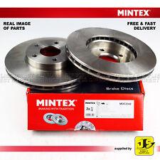 2X GENUINE MINTEX FRONT DISC BRAKES MDC2342 FORD C-MAX II FOCUS III GRAND C-MAX