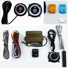 Car Safe Alarm System Induction Remote Control Engine Antitheft One Button Start