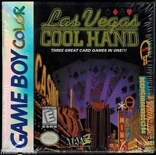 Las Vegas Cool Hand  (Nintendo Game Boy Color, 1998) Factory Sealed