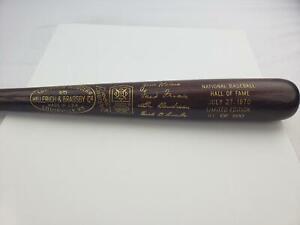 1970 Hall of Fame Induction Louisville Slugger Baseball Bat #/500