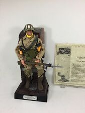 1/6 HASBRO 17TH AIRBORNE PARATROOPER 1ST SGT+DIORAMA BASE WW2 BBI DID DRAGON 21