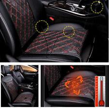 Carbon Fiber Heated Car Seat Heater Chair Cushion Warmer Cover Pad 12V Well Made