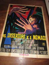 manifesto IL DISERTORE E I NOMADI JURO JAKUBISKO FERENC  E. BRINI