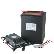 72v 30Ah LiFePO4 Lithium Battery Pack with 5A Charger for Electric Bike 50A BMS
