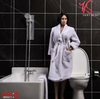 Vstoys 18XG12 1/6 Bathroom Scene Bathrobe Towel Set For 12'' Action Figure Doll