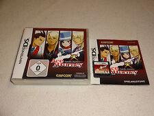 Apollo Justice: Ace Attorney Nintendo DS juego