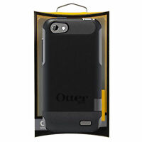Otterbox Commuter Protective Cover Case for HTC One V - Black / Gunmetal Grey