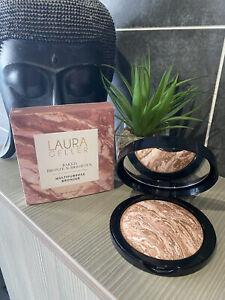 Laura Geller Baked Bronze N Brighten Multipurpose Bronzer MEDIUM huge 24g boxed