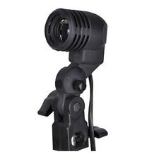 E27 flash strobe bulb umbrella holder socket studio photo light stand adapter