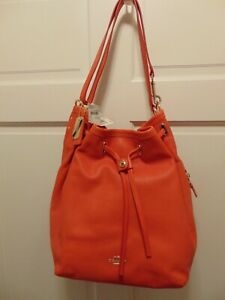 $475 MSRP COACH AUTHENTIC 34988 PEBBLED LEATHER BUCKET BAG/PURSE NWT