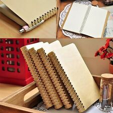 Spiral Coil Pocket Notebook Sketchbook Diary Journal Student Note Pad Book New