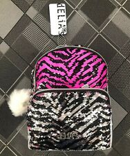 Delia*s Baby Girl BackPack Color Changing Sequence Design Fun Travel Books Toys