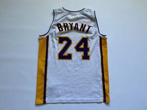 NBA LOS ANGELES LAKERS BASKETBALL SHIRT JERSEY CHAMPION #24 KOBE BRYANT
