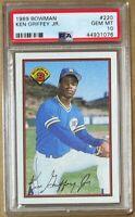 1989 Bowman #220 Ken Griffey Jr RC PSA 10 - New Label