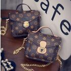 Fashion Women Handbag PU Shoulder Messenger Bag Mini Satchel Tote Purse Bags N