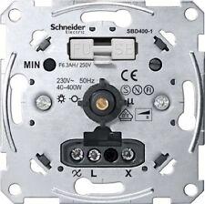 Schneider Merten Dimmer Einsatz Druckausschalter Drehdimmer 60-400W SBD400R-1