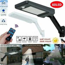 LED Wall Light Street Solar Lights Outdoor Motion Sensor Focos Solares de calle