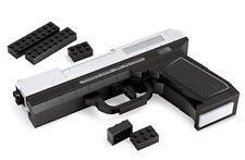 BUILDING BRICK BLOCK CUSTOM MP-45 HAND GUN PISTOL WEAPON COMPATIBLE WITH LEGO